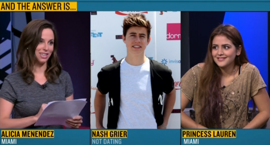 Did Princess Lauren Dating Cameron Dallas